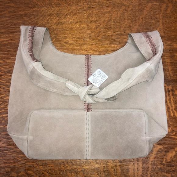 Free people boho leather bag. Nwt